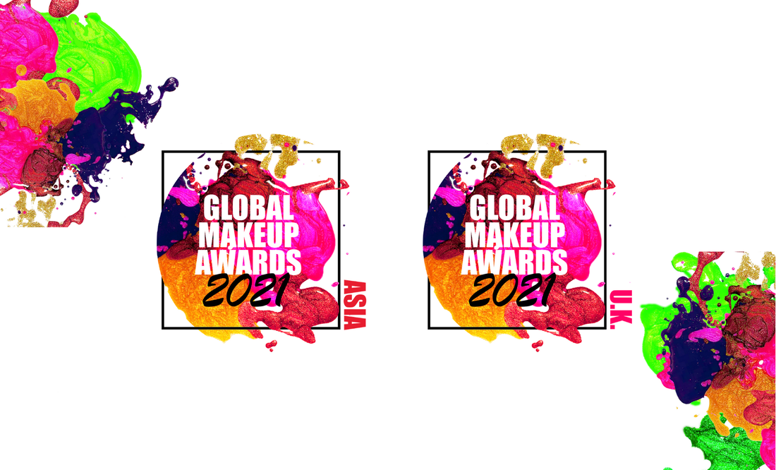 asia 2021 global makeup awards and UK