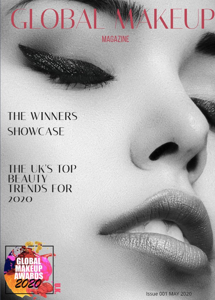 Global Makeup Awards 2020 announced in Global Makeup Magazine