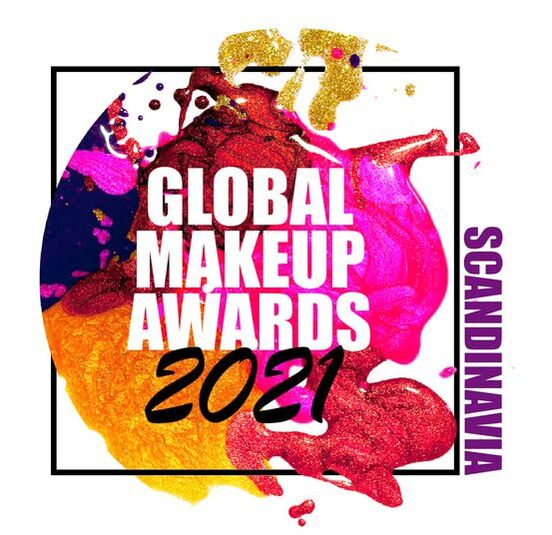Scandinavia 2021 Global Makeup Awards logo image